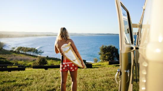 Pacific Coast Australia, Australie : Pat Morton Lookout, Lennox Head
