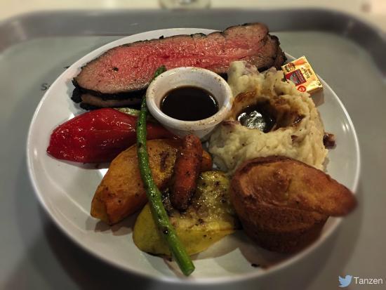 Buckhorn Grill : Bistecca di Lombo con verdure e patate