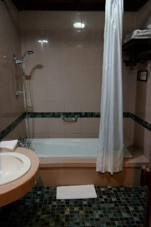 Hotel Tjampuhan & Spa: Gunung 4 bathroom - the bat cave!
