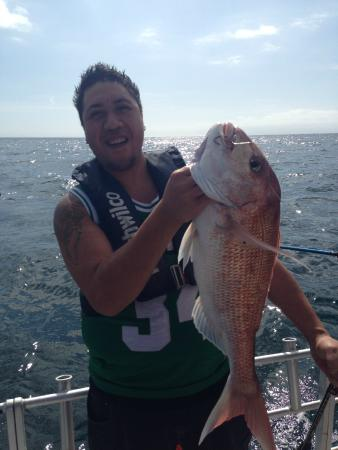 Megabites fishing charter ltd auckland central new for Fishing charters auckland