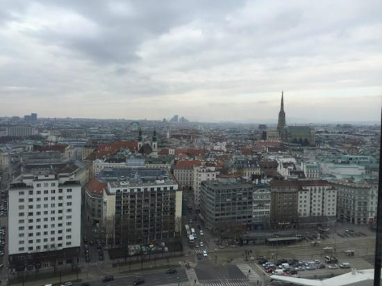 view from room picture of sofitel vienna stephansdom. Black Bedroom Furniture Sets. Home Design Ideas