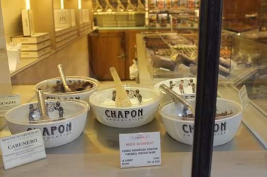 Chocolat Chapon: mousse aux chocolat