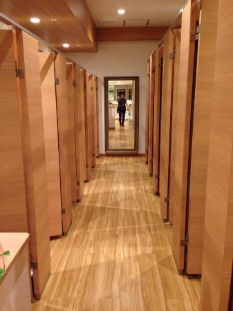 The Shower Room Picture Of Shinjuku Kuyakushomae Capsule Hotel
