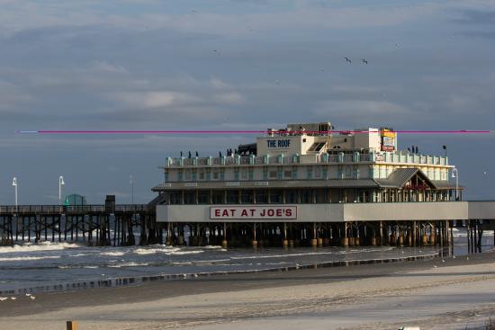 Daytona Beach Boardwalk And Pier Main St