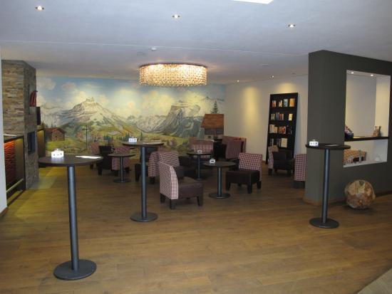 Hotel-Restaurant Banklialp: hall d'entrée et lounge