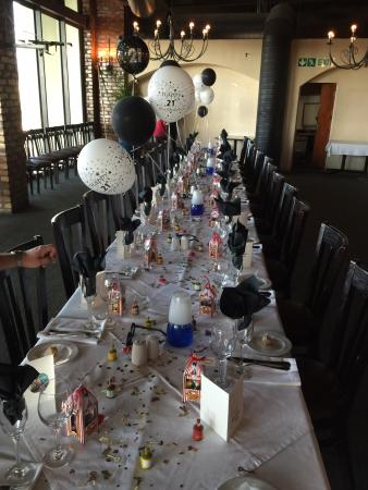 Dale's Black Angus Grill: My daughters 21st Birthday dinner at Dales Black Angus Grill in Milnerton on Saturday 28th Feb 2