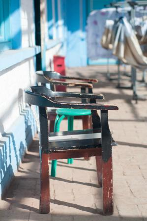 Turpan Dap Youth Hostel: Old Style Chairs