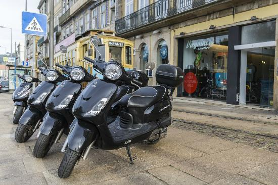‪Vieguini - Bike & Scooter Rental Porto - best way to discover the city‬
