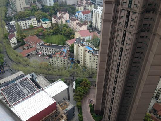 Shanghai LA Residence: vista dal balcone