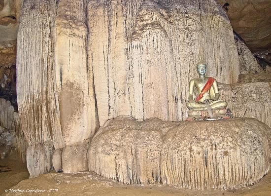 Tham Loup & Tham Hoi Caves: tham-loup-stalagmite