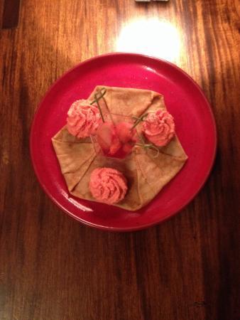 Crêperie du frugy : Crêpe de la saint Valentin