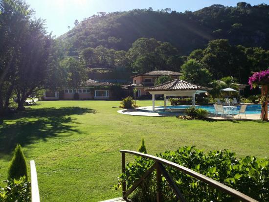 Itaipava, RJ: Vista geral, área da piscina.