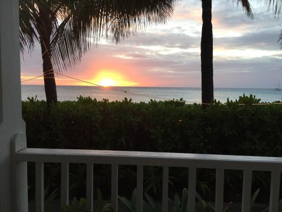 Sunset from the Grand Turk Inn