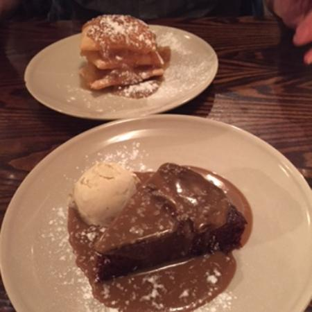 Caban Cardiff : vegan sticky toffee pudding