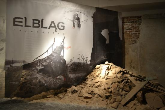 Muzeum Archeologiczno-Historyczne w Elblągu: fragment ekspozycji