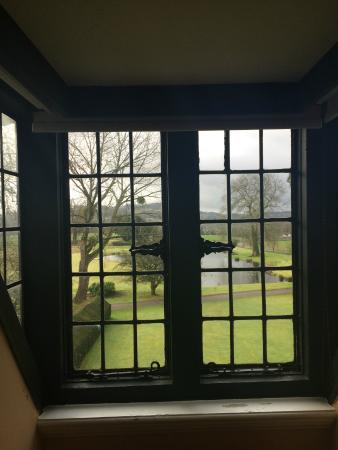 Llansantffraed Court: The view from our bedroom window
