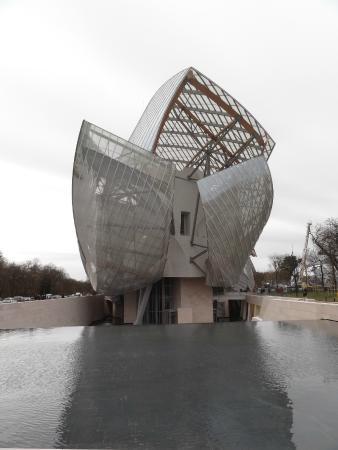 Fondation Louis Vuitton  Fondation Vuitton. Fondation Louis Vuitton  Fondation  Vuitton. Fondation Louis Vuitton  LV Foundation entrance 0602ca703c1