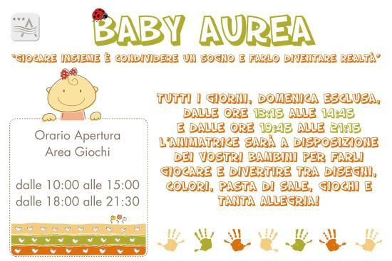 Hotel Aurea Rimini: Tante attenzioni per i piccoli ospiti