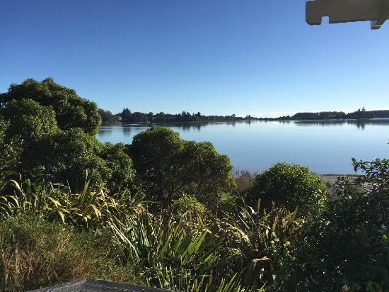 Bronte Country Estate: View across Waimea Inlet towards Mapua