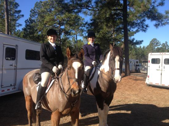 Rose Hill Estate: Riding in the Whiskey Road Fox Hounds hunt 2015
