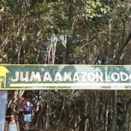 Juma Amazon Lodge: Chegada
