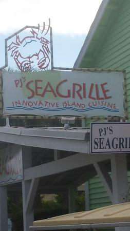 PJ's Seagrille : Don't eat there!