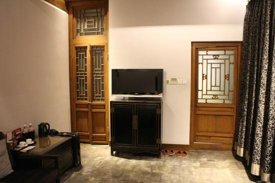 Shichahai Sandalwood Boutique Hotel: お部屋の中