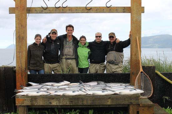 Kodiak Legends Lodge: Fishing
