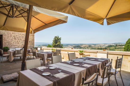 Hotel La Tabaccaia: La Rocca di Castelfalfi