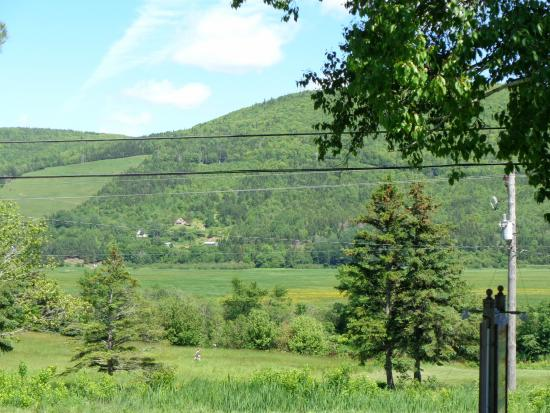 Margaree Forks, Kanada: View of across the road