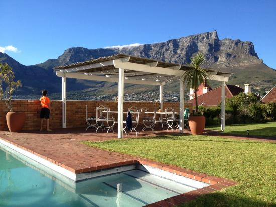 Bergzicht Guesthouse: table mountain