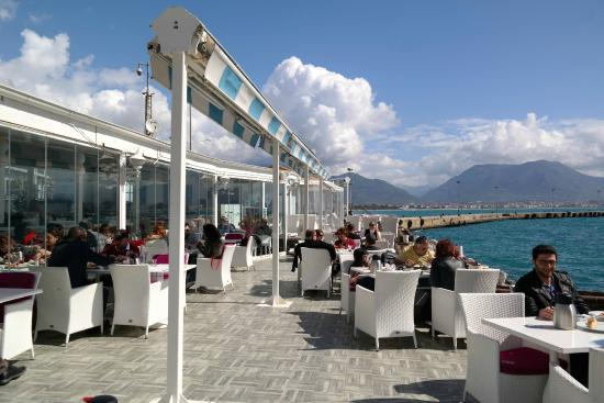 Great brunch picture of harbour bar and restaurant for Alanya turkish cuisine