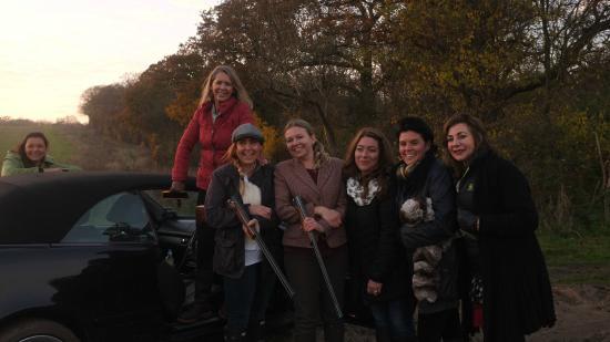 Frock Stock and Barrel Clay Pigeon Shooting School: Hen party shoot
