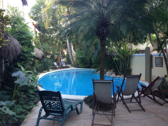 Hotel Villas Sayulita: pool and courtyard