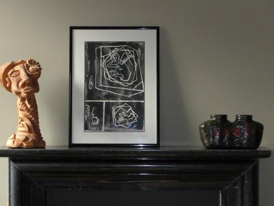 Maison Matilda: Kunst im Salon