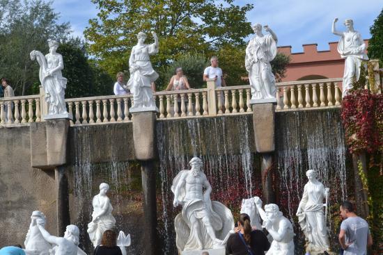 Mondo Verde: Reproduction de la fontaine de Trevise