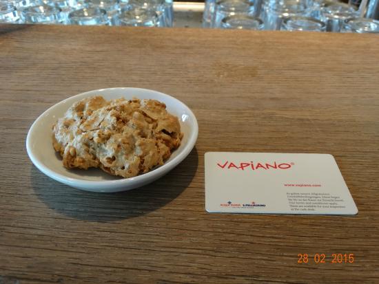 vapiano: Bij de koffie hoort er een koekje bij