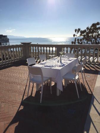 terrazza in una giornata di sole - Picture of Ristorante il ...