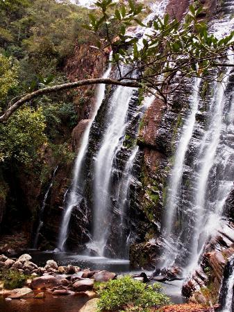 Barao De Cocais, MG: Cachoeira da Pedra Pintada - Cocais (MG), Brasil