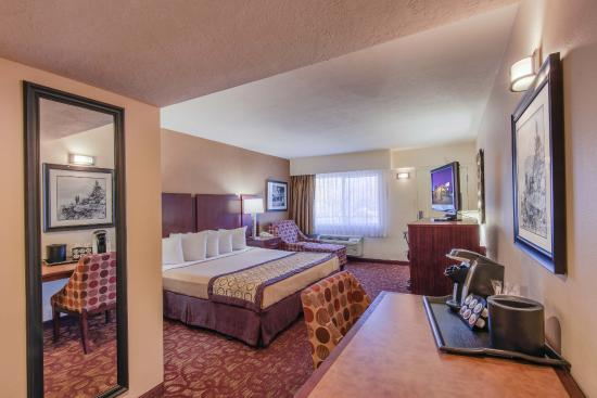 Hotel Moab Downtown: Single King Suite