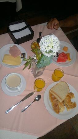 Salto Grande Hotel: desayuno