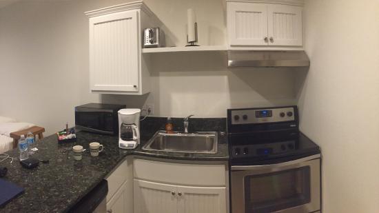 Harbour Inn: Küchenbereich