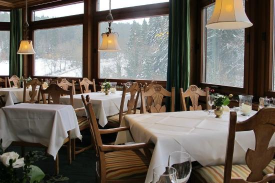 Ringhotel Mönch's Waldhotel: Essen mit Aussicht