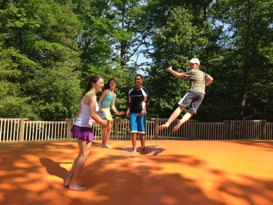 Williamsburg KOA Campground: Jumping Pillow!