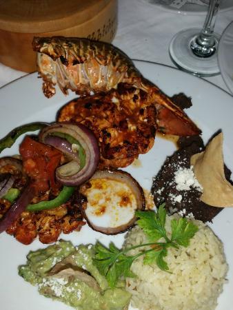 La Habichuela Centro: Lobster!