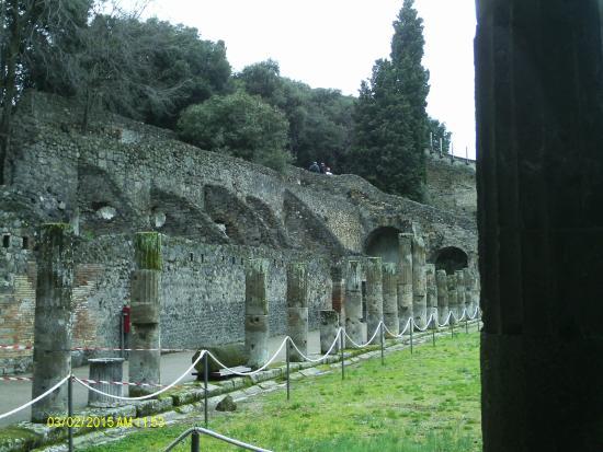 Carrani Tours: Columns around gladiator training area