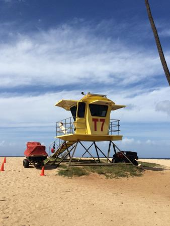 HA Baldwin Beach Park: Lifeguard tower