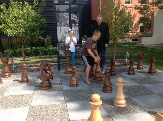 Galt Museum & Archives: Giant Outdoor Chess