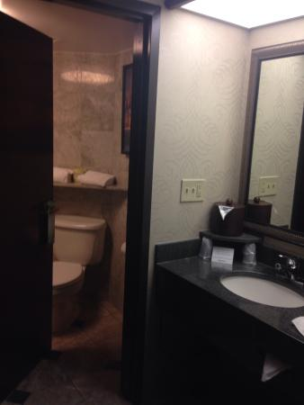 Drury Inn & Suites New Orleans: Sink, BR areas
