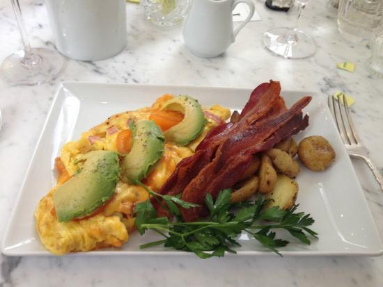Washington School House Hotel: Chef's breakfast
